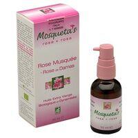 Mosquetas Huile rose musquée du chili + HE Rose de Damas BIO 30 ml de huile - Mosquetas