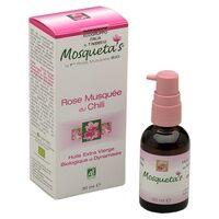Mosquetas Huile Rose Musquée Bio -30 ml 30 ml de huile - Mosquetas