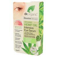 Dr. Organic Sérum pour les yeux à l'huile de chanvre organique 15 ml - Dr. Organic