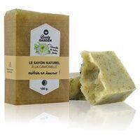 Beauty Garden Savon naturel camomille - Nettoie en douceur 100 g - Beauty Garden
