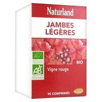 Naturland Vigne rouge Bio 90 tablettes de 655mg - Naturland