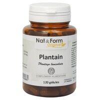 Nat & Form Plantain 120 capsules - Nat & Form