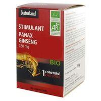 Naturland Ginseng Bio Panax 90 tablettes de 644mg - Naturland