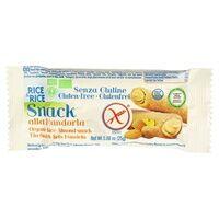 Rice&Rice Snack Riz avec Amande Bio 25 g - Rice&Rice