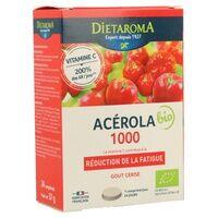 Dietaroma Acérola 1000 Cerise BIO 24 tablettes (Cerise) - Dietaroma