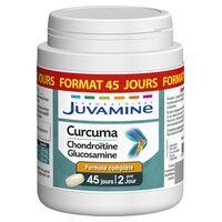 Laboratories Juvamine Curcuma Chondroïtine Glucosamine - Format Cure Longue 90 comprimés - Laboratories Juvamine