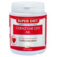 Super Diet Coenzyme Q10 + Ail 180 capsules - Super Diet