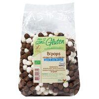 Ma Vie sans Gluten Bi'pops (billettes de céréales croustillantes riz, coco et cacao) Bio 250 g - Ma Vie sans Gluten