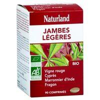 Naturland Vigne rouge Marronnier Cyprés Fragon Bio 90 tablettes de 666mg - Naturland