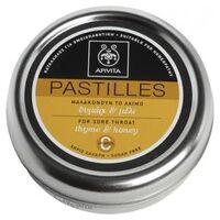 Apivita Pastilles au miel et au thym 45 g - Apivita