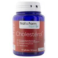 Nat & Form Levure de riz rouge Coenzyme Q10 60 capsules de 646mg - Nat & Form