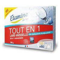 Etamine du Lys Tablettes tout en 1 lave-vaisselle 60 unités - Etamine du Lys