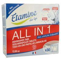 Etamine du Lys Tablettes tout en 1 lave-vaisselle 30 unités - Etamine du Lys