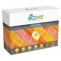 Ecover Tablettes Lave-Vaisselle Tout-en-un 44 tablettes - Ecover