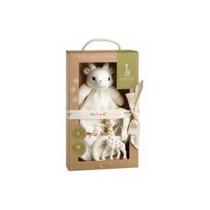Sophie la Girafe Collection SO'pure Coffret doudou + Anneau de dentition 2 unités - Sophie la Girafe - Publicité