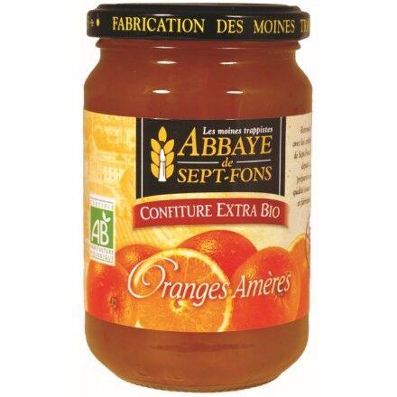 Abbaye de Sept-Fons Confiture Extra Oranges Ameres Bio - Abbaye De Sept-fons