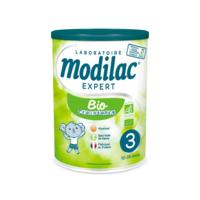 modilac expert bio 3 lait poudre b/800g