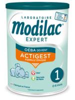 modilac expert actigest 1 lait poudre b/800g