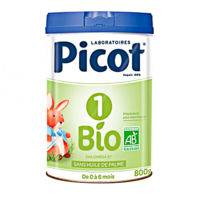 picot bio 1 lait poudre b/800g