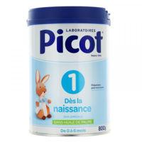 picot standard 1 lait poudre b/800g