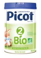 picot 2 bio lait en poudre 800g