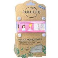 para'kito kids bracelet répulsif anti-moustique princess