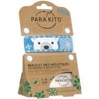 para'kito kids bracelet répulsif anti-moustique polar bear