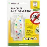 arkopharma arko essentiel bracelet anti-moustique enfant multicolore
