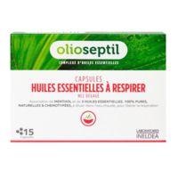 olioseptil - capsules huiles essentielles à respirer - nez dégagé
