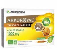 arkopharma arkoroyal gelée royale bio 1000 mg solution buvable 20 ampoules/10ml
