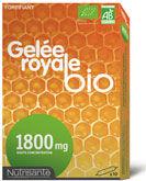 nutrisanté nutrisante gelee royale bio 1800 mg, bt 10
