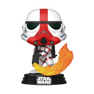 Pop! Vinyl Figurine Pop! Incinterator Stromtrooper - Star Wars: The Mandalorian - Publicité