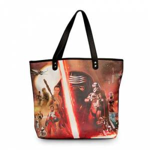 Loungefly Star Wars The Force Awakens Movie Poster Tote Bag - Publicité