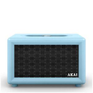 Akai Haut-Parleur Bluetooth Akai Retro (2 x 20W) - Bleu - Publicité