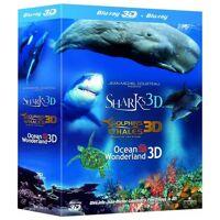 Universal Pictures Trilogie Jean-Michel Cousteau 3D <br /><b>12.49 EUR</b> Zavvi FR