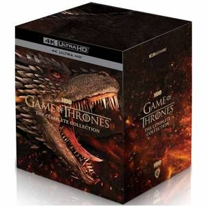 Warner Bros. Game Of Thrones: Saisons 1-8 - 4K Ultra HD - Publicité