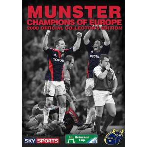 Munster - Champions Of Europe 2008 [Collector's Edition] - Publicité