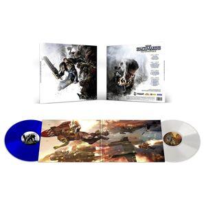 Laced Records - Warhammer : Space Marine (Bande son originale) 2xLP (Blanc et bleu) - Publicité