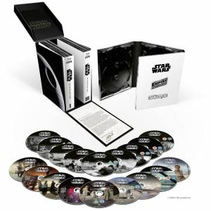 Disney Coffret Star Wars: La Saga Skywalker - Blu-Ray - Publicité