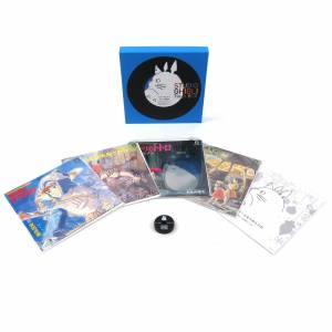 Studio Ghibli Coffret Vinyles Studio Ghibli 7 - Publicité