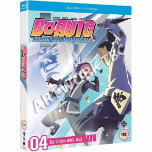 Manga Entertainment Boruto: Naruto Next Generations Set 4 (Episodes 40-51) - Publicité