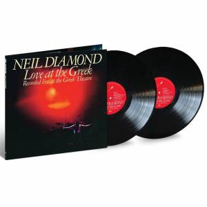 UMC Neil Diamond - Live At The Greek 2LP - Publicité