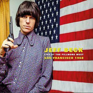 LondonCallingVinyl Jeff Beck - Live At The Fillmore West. San Francisco 1968 LP - Publicité