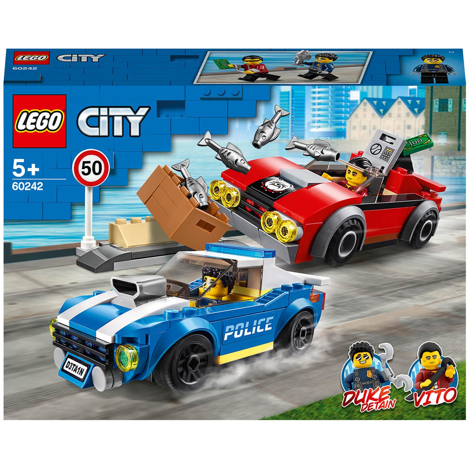 Lego City: La course-poursuite sur l'autoroute (60242)
