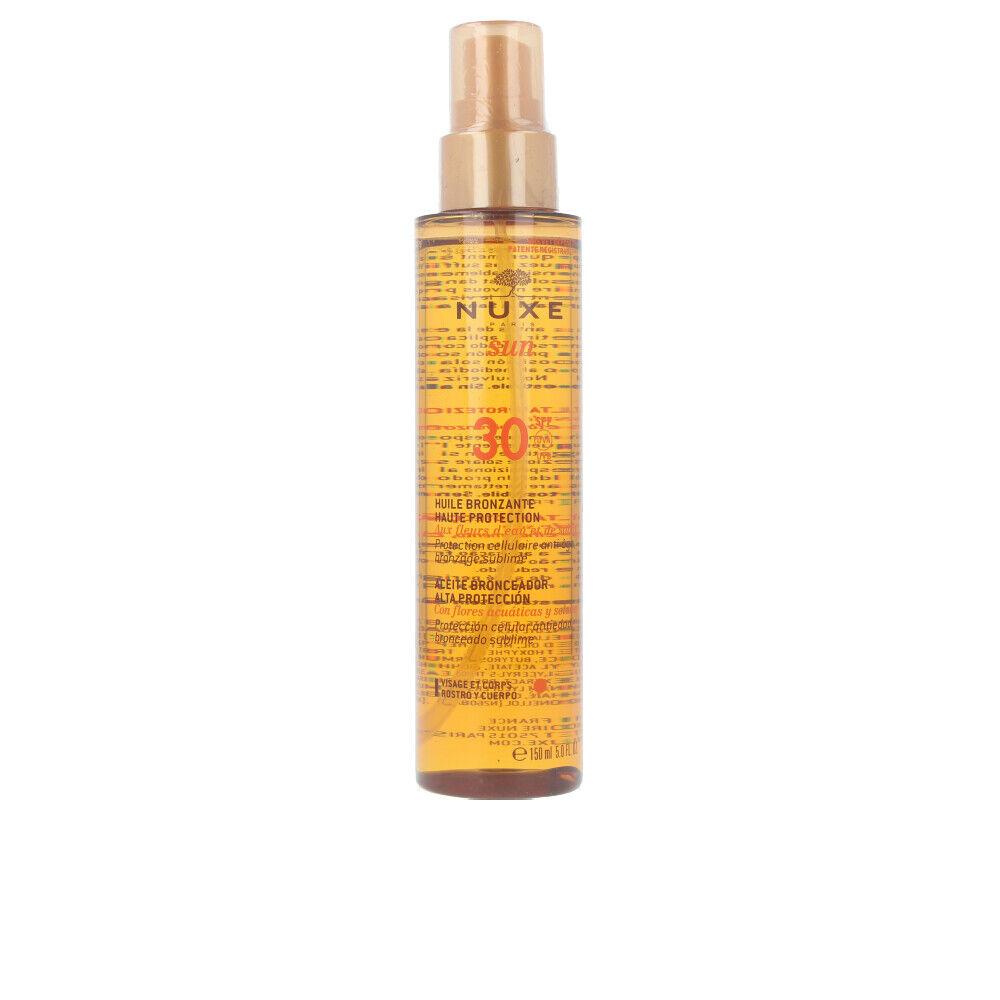 Nuxe NUXE SUN huile bronzante haute protection SPF30 spray  150 ml