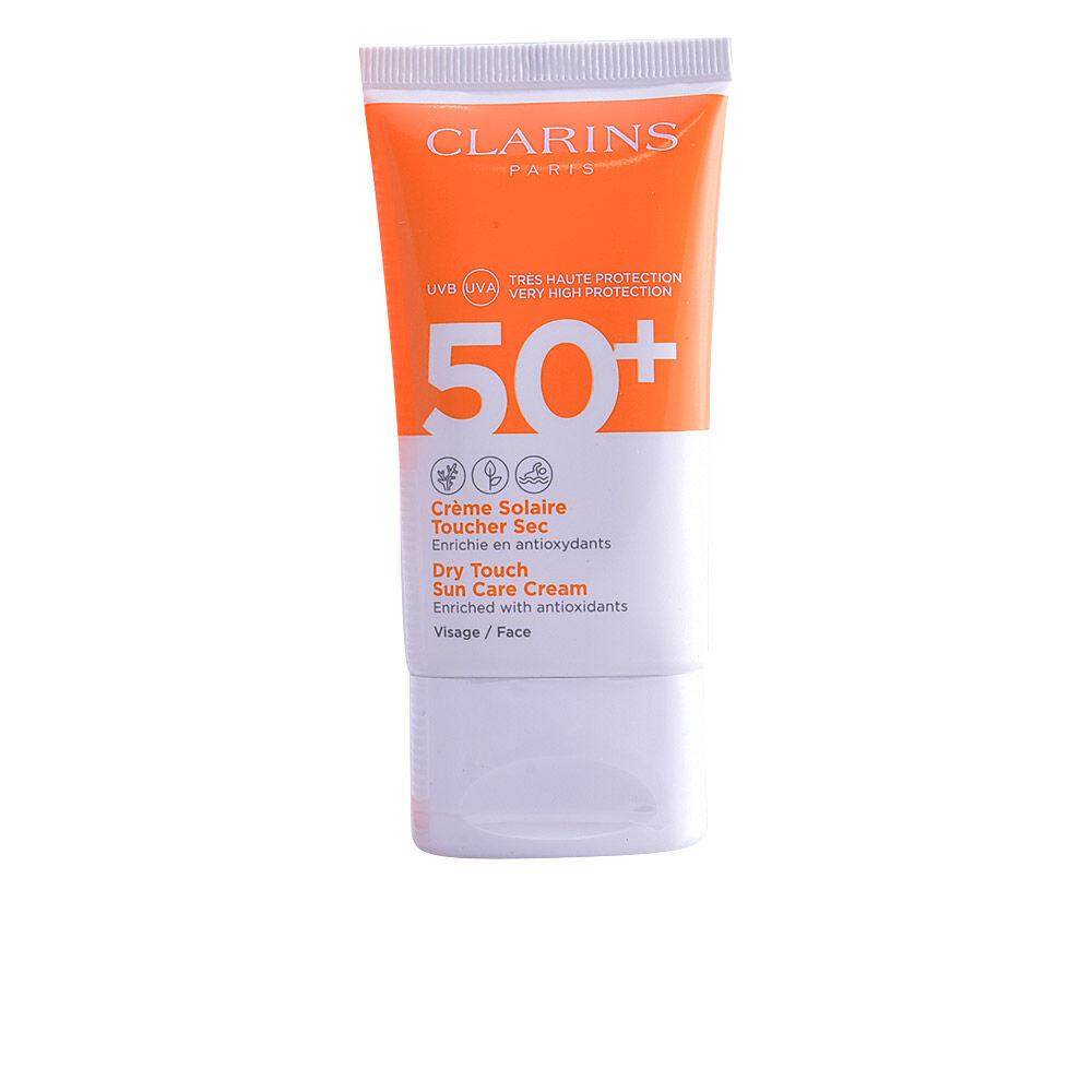 Clarins SOLAIRE crème toucher sec SPF50  50 ml