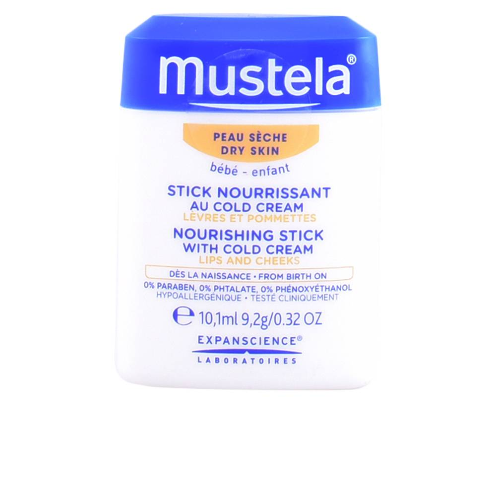 Mustela BÉBÉ hydra stick lips and cheeks with cold cream  10.1 ml