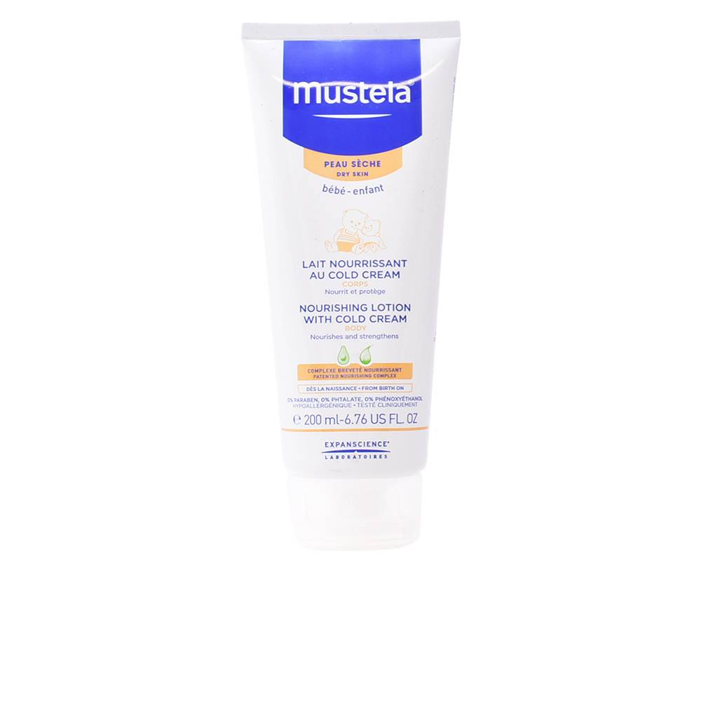 Mustela BÉBÉ nourishing lotion with cold cream dry skin  200 ml