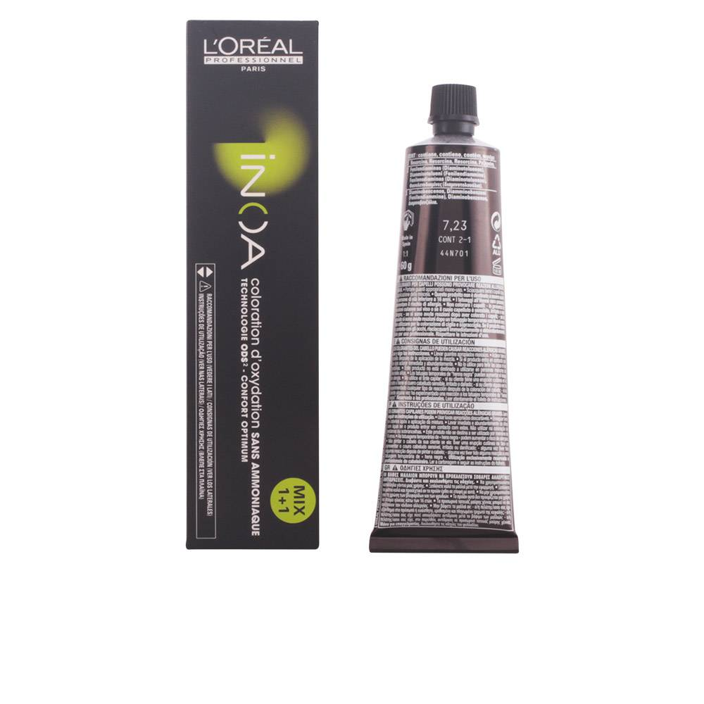 L'Oreal Expert Professionnel INOA coloration d'oxydation sans amoniaque  #7,23  60 gr