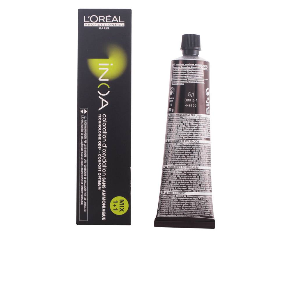 L'Oreal Expert Professionnel INOA coloration d'oxydation sans amoniaque  #5,1  60 gr